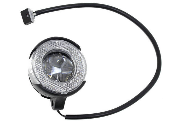 BROMPTON Shimano front dynamo LED lamp, with switch, comes with lead click to zoom image