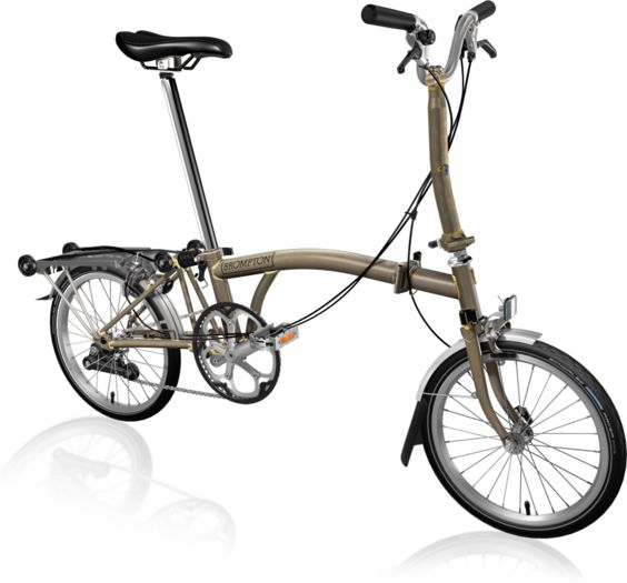 BROMPTON M2R Raw Lacquer click to zoom image