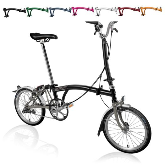 BROMPTON H3L Superlight Titanium click to zoom image