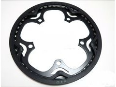 BROMPTON Black Edition Chainring for 'spider ' crank