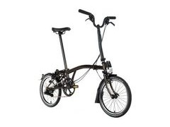 BROMPTON M2L Black Edition (Raw Lacquer)