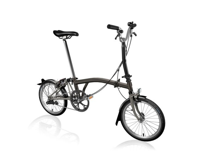 BROMPTON M6L Black Edition SuperLight (Black Lacquer) click to zoom image