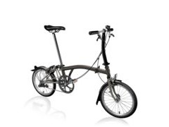 BROMPTON S6L Black Edition SuperLight (Black Lacquer)