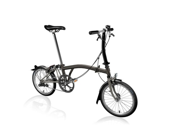 BROMPTON S6L Black Edition SuperLight (Black Lacquer) click to zoom image