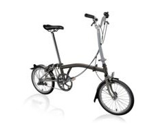 BROMPTON H2L Black Edition SuperLight (Black Lacquer)