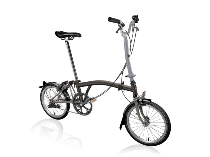 BROMPTON H2L Black Edition SuperLight (Black Lacquer) click to zoom image