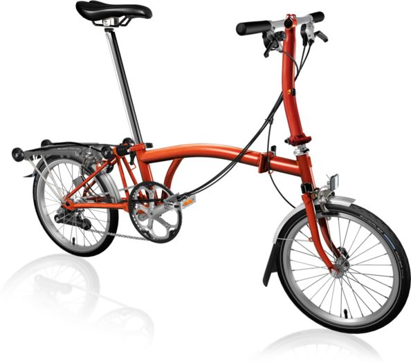 BROMPTON S6R Flame Lacquer click to zoom image