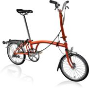 BROMPTON H3R Flame Lacquer