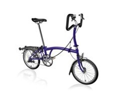 BROMPTON P3R Purple Metallic