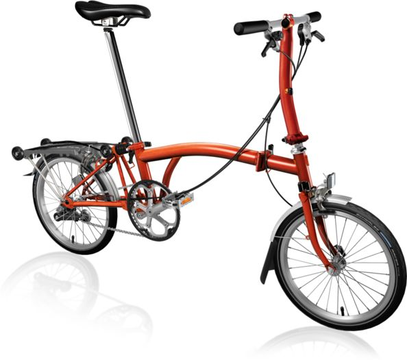 BROMPTON S3R Flame Lacquer click to zoom image