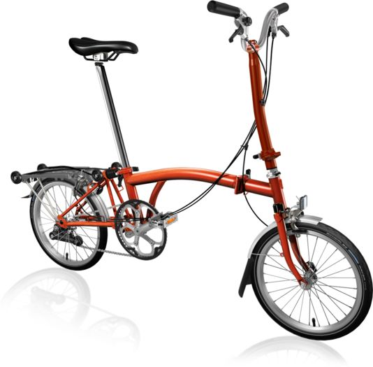 BROMPTON H2R Flame Lacquer click to zoom image