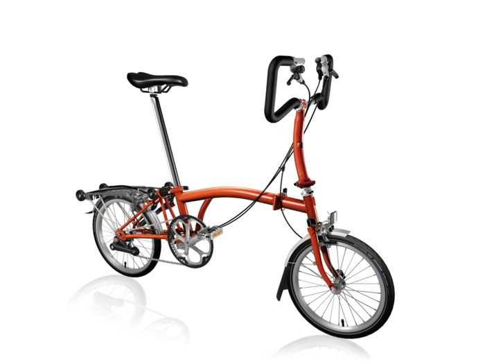BROMPTON P2R Flame Lacquer click to zoom image