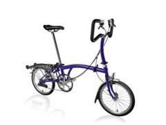BROMPTON P2R Purple Metallic