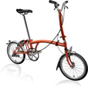 BROMPTON H3L Flame Lacquer