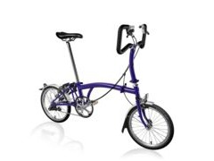 BROMPTON P3L Purple Metallic