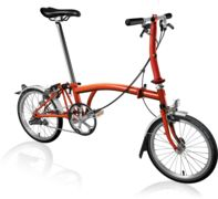 BROMPTON S3L Flame Lacquer