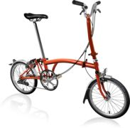BROMPTON H2L Flame Lacquer
