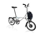 BROMPTON H2L Electric Edition  White  click to zoom image