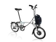 BROMPTON H6L Electric Edition  White  click to zoom image