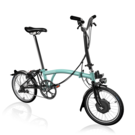 BROMPTON H6L Electric Edition  Turkish Green  click to zoom image