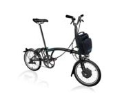BROMPTON M2L Electric Edition  Black  click to zoom image