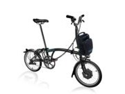 BROMPTON M6L Electric Edition  Black  click to zoom image