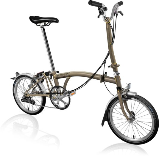 BROMPTON H6L Raw Lacquer click to zoom image