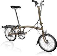 BROMPTON H3R Raw Lacquer