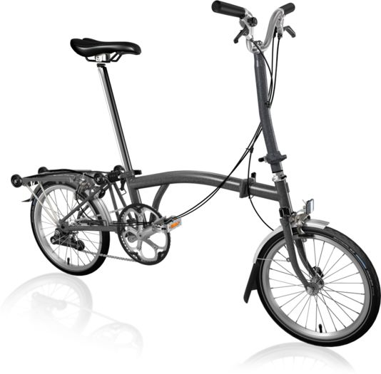 BROMPTON H2R Metallic Graphite click to zoom image