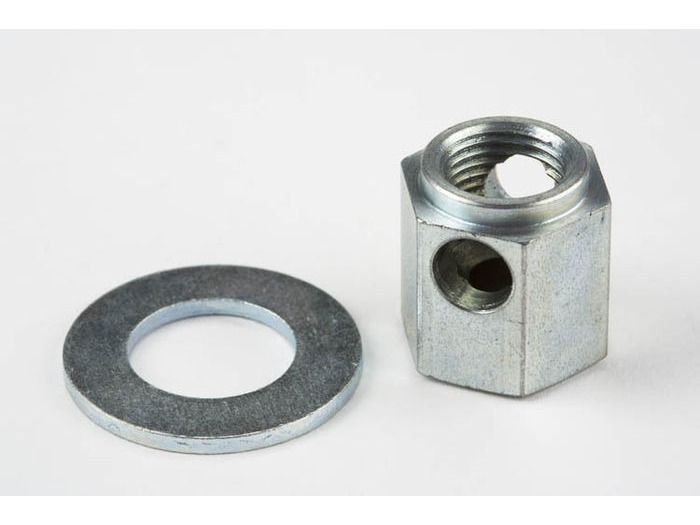 BROMPTON Sturmey 3spd Chain Tensioner Nut (Post-2004) click to zoom image