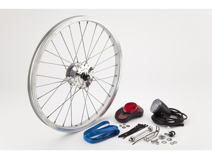 BROMPTON SON Superlight hub dynamo set, including front wheel click to zoom image