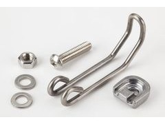 BROMPTON Wire form bracket and fittings for front dynamo lamp