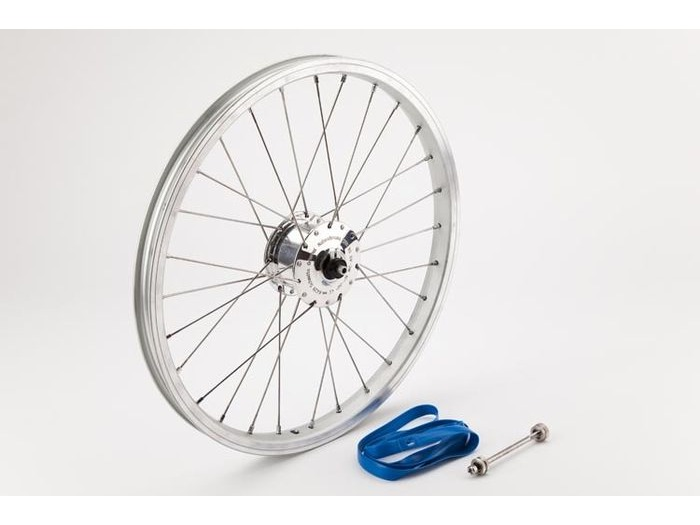 BROMPTON Front wheel with SON hub dynamo, including fittings click to zoom image