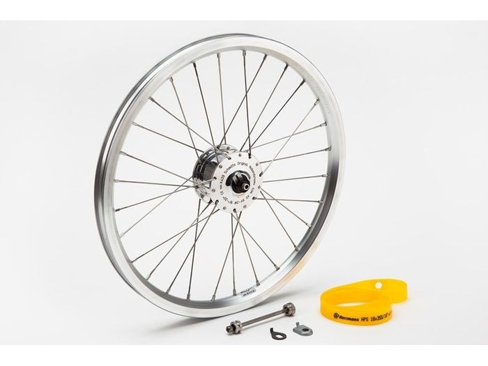BROMPTON Front wheel with SON hub dynamo click to zoom image