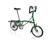 BROMPTON P6R  Racing Green P6R  click to zoom image