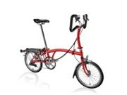 BROMPTON P6R  Red P6R  click to zoom image