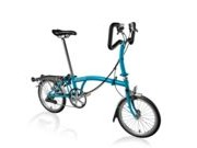 BROMPTON P6R  Lagoon Blue P6R  click to zoom image