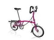 BROMPTON P6R  Hot Pink P6R  click to zoom image