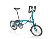 BROMPTON P6L  Lagoon Blue P6L  click to zoom image