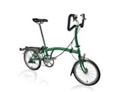 BROMPTON P3R  Racing Green P3R  click to zoom image
