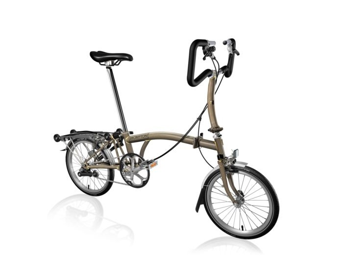 BROMPTON P3R Raw Lacquer click to zoom image