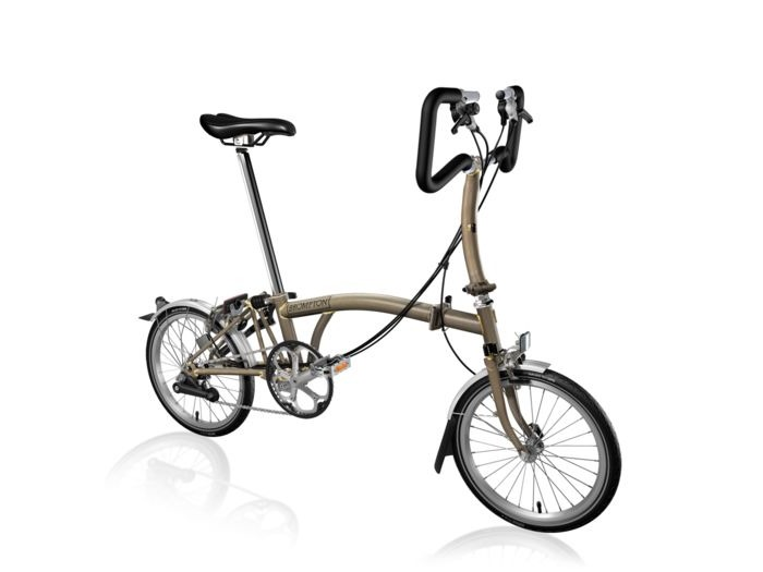 BROMPTON P6L Raw Lacquer click to zoom image