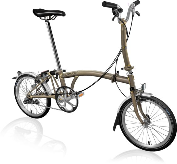 BROMPTON M3L Raw Lacquer click to zoom image