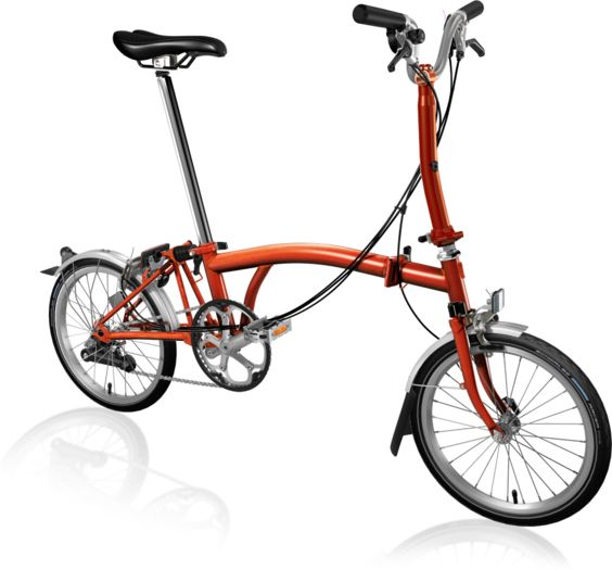 BROMPTON M6L Flame Lacquer click to zoom image