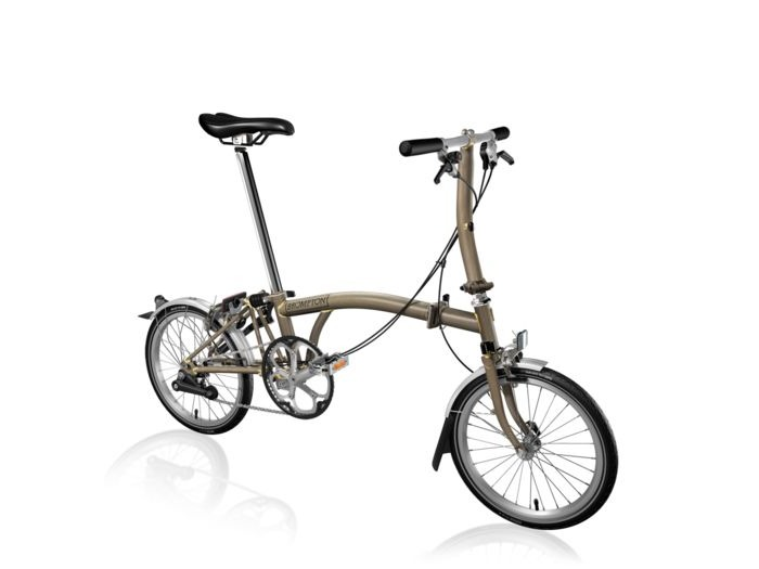 BROMPTON S3L Raw Lacquer click to zoom image