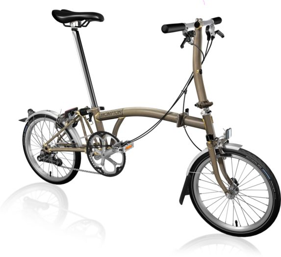 BROMPTON S2L Raw Lacquer click to zoom image