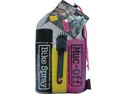 MUC-OFF Race Kit: Bike Cleaner 1Ltr, Bike Spray, Cleaning Brush & Sp