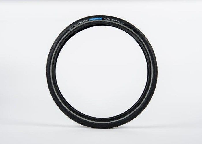 SCHWALBE Marathon Racer Tyre, reflective - Pair click to zoom image