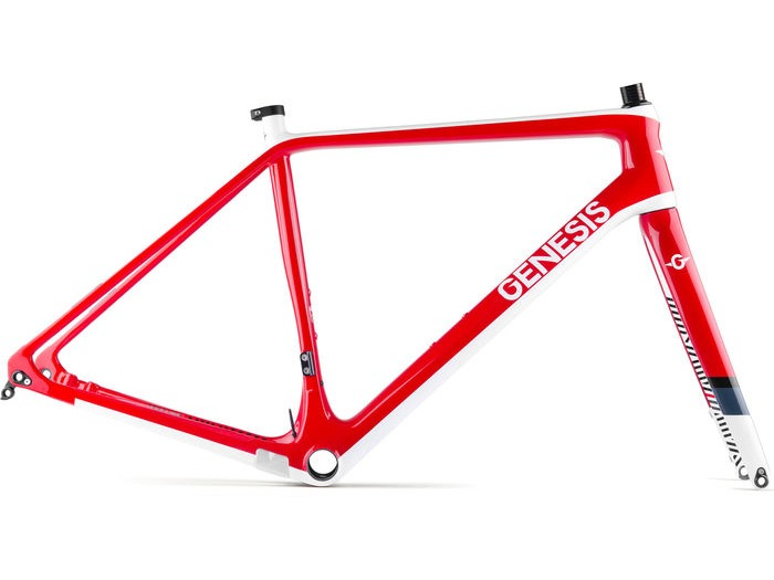 GENESIS Vapour Carbon CX Frameset Red click to zoom image