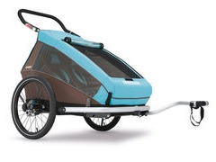 Croozer Trailers Kid For 2 PLUS